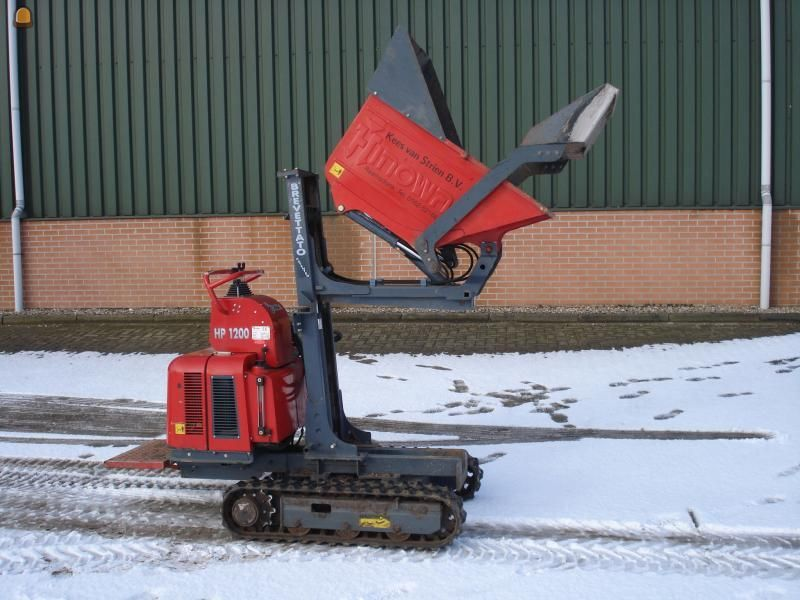 Mini rupsdumper Hinowa HP1200